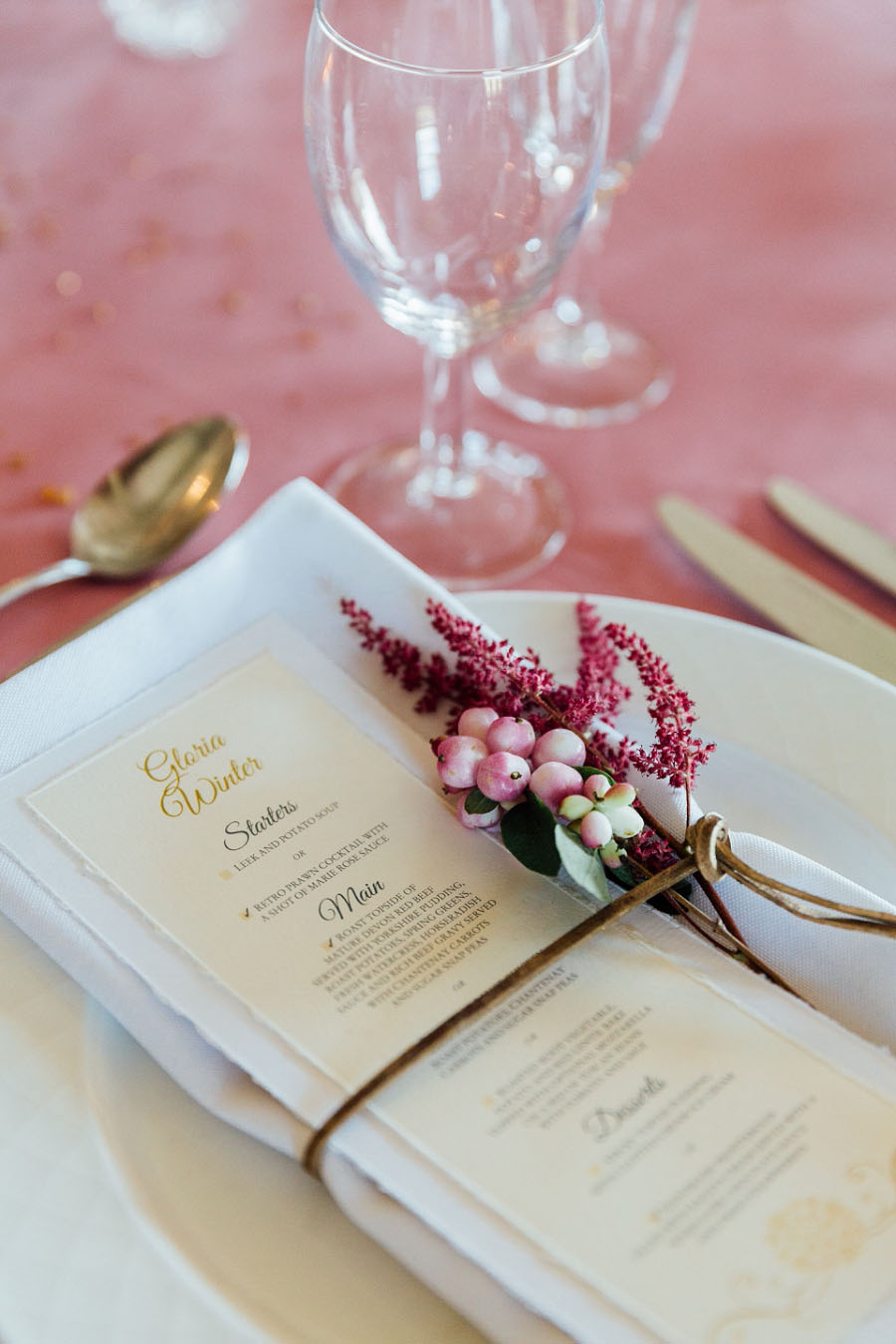 A Romantic Inspirational Bridal Shoot With Touches of Boho Glam & Gold!