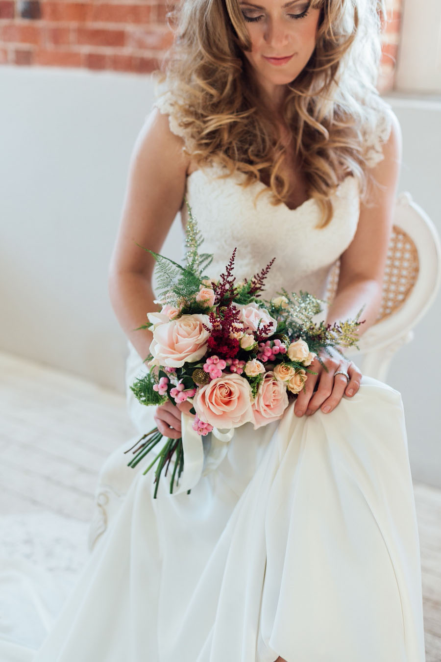 A Romantic Inspirational Bridal Shoot With Touches of Boho Glam & Gold! (77)