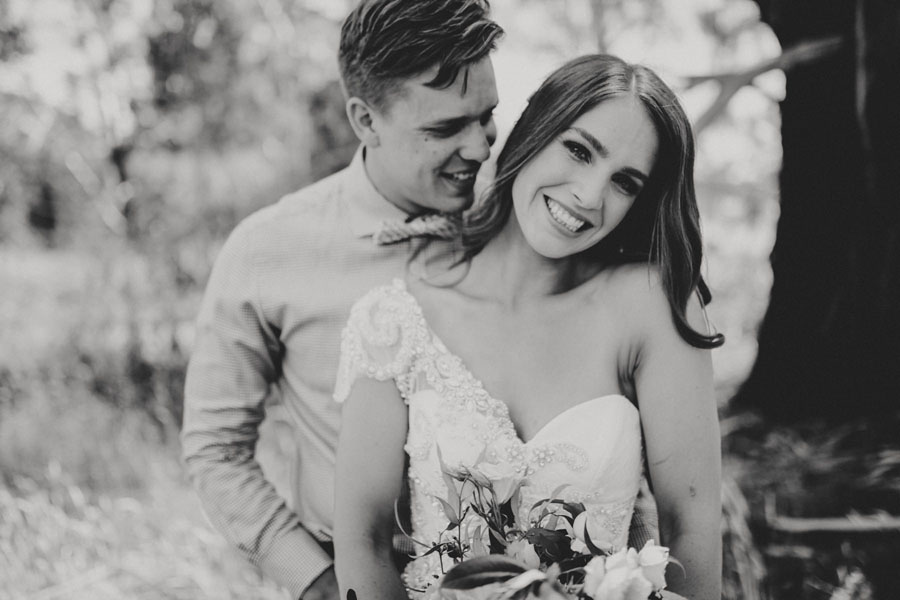 Amazing Wedding Dress Designer ANNA CAMPBELL'S Rustic Glam Wedding!