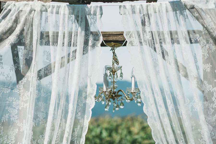 A Gorgeous Antique & Vintage Finds DIY Wedding in an Apple Orchard: Jess & Zach