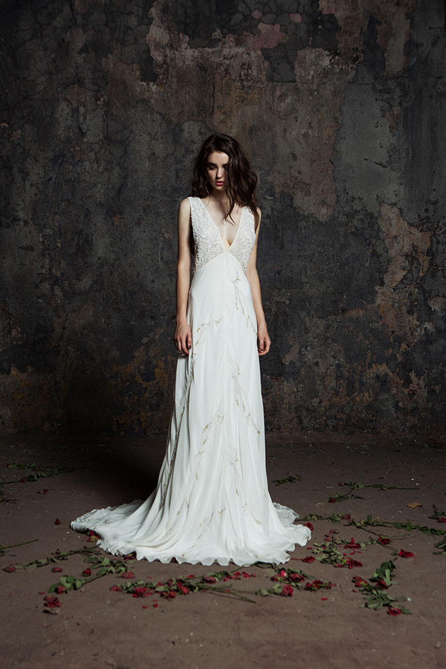 Boho Bridal Crush! Bo & Luca Wedding Dress Collection - Cassiopeia