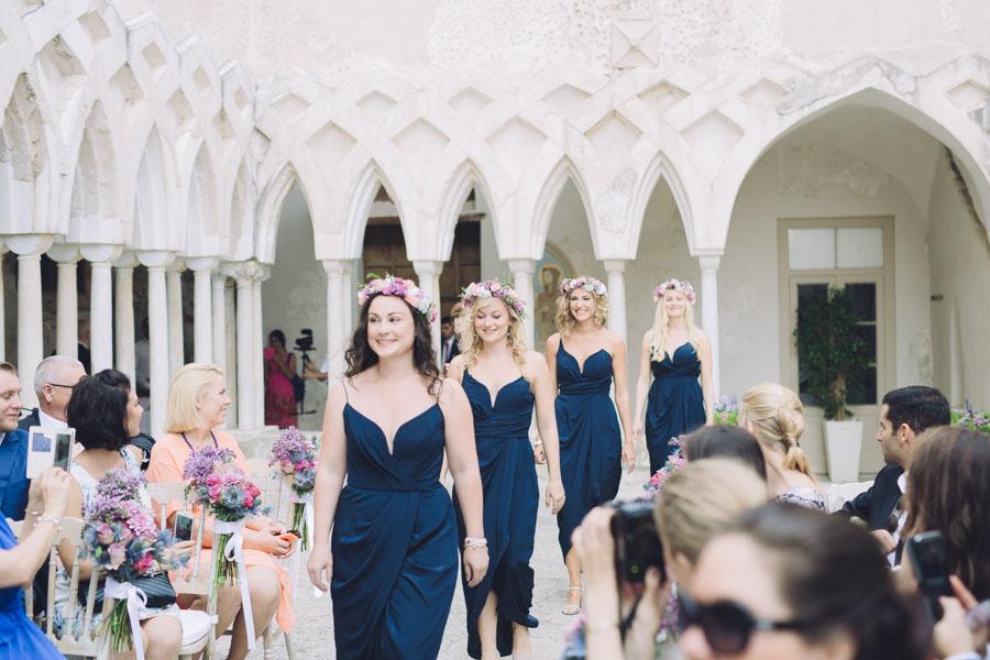 Crazy Pretty Amalfi Coast Wedding with an Abundance of Pastel Flowers Sarah & Jeremy (287)