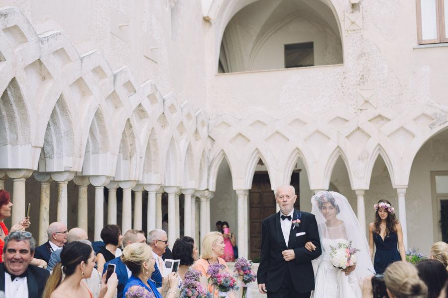 Crazy Pretty Amalfi Coast Wedding with an Abundance of Pastel Flowers Sarah & Jeremy (288)