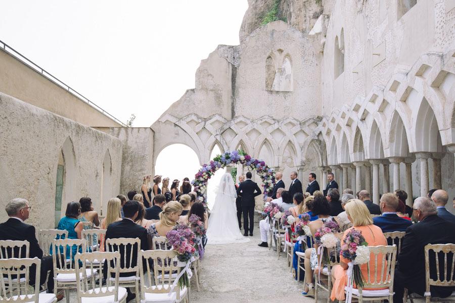 Crazy Pretty Amalfi Coast Wedding with an Abundance of Pastel Flowers Sarah & Jeremy (294)