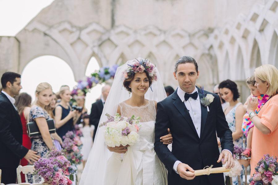 Crazy Pretty Amalfi Coast Wedding with an Abundance of Pastel Flowers Sarah & Jeremy (302)