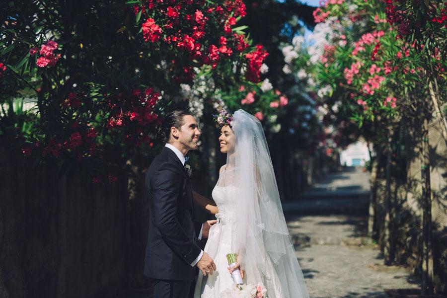 Crazy Pretty Amalfi Coast Wedding with an Abundance of Pastel Flowers Sarah & Jeremy (316)