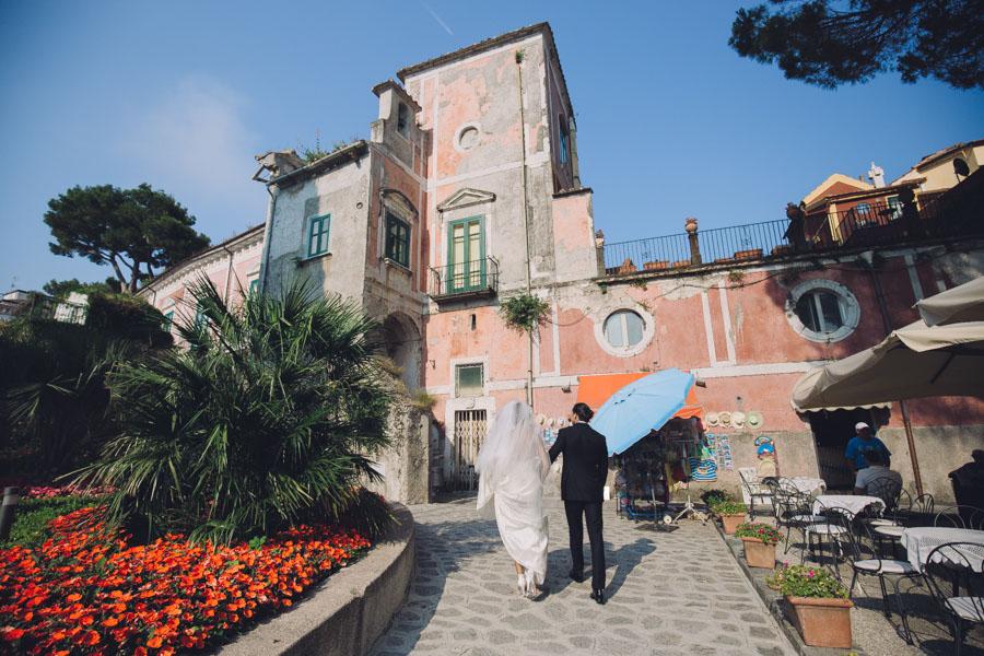 Crazy Pretty Amalfi Coast Wedding with an Abundance of Pastel Flowers Sarah & Jeremy (325)
