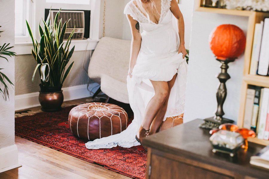 Earthy Boho Beautiful & Earthy Boho Wedding: Chelsie & Jeremiah