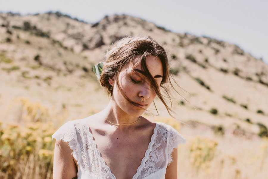 Beautiful & Earthy Boho Wedding: Chelsie & Jeremiah