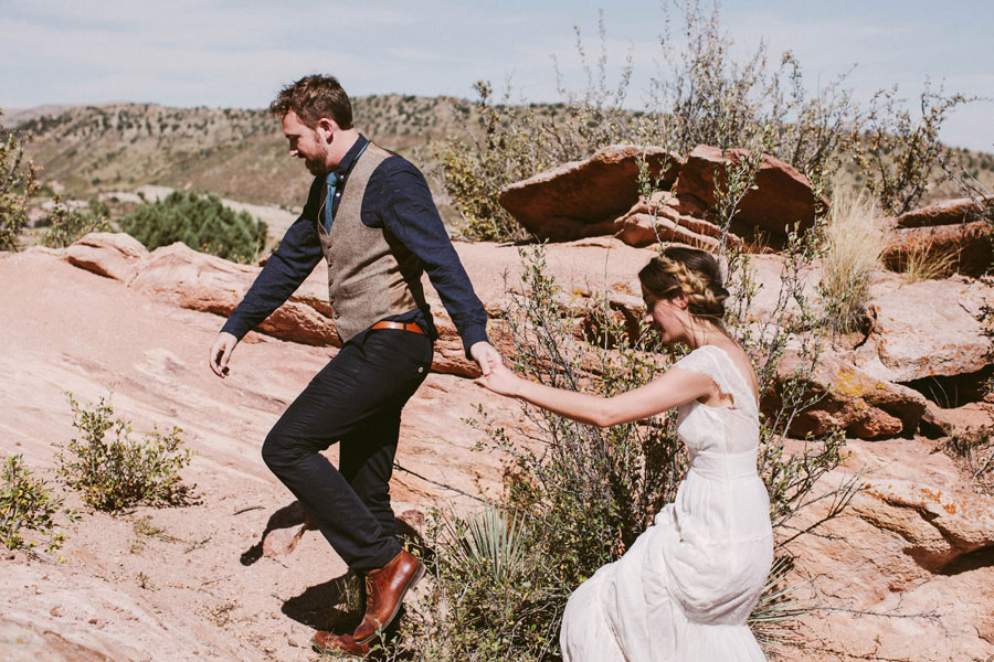 Earthy Boho Wedding81