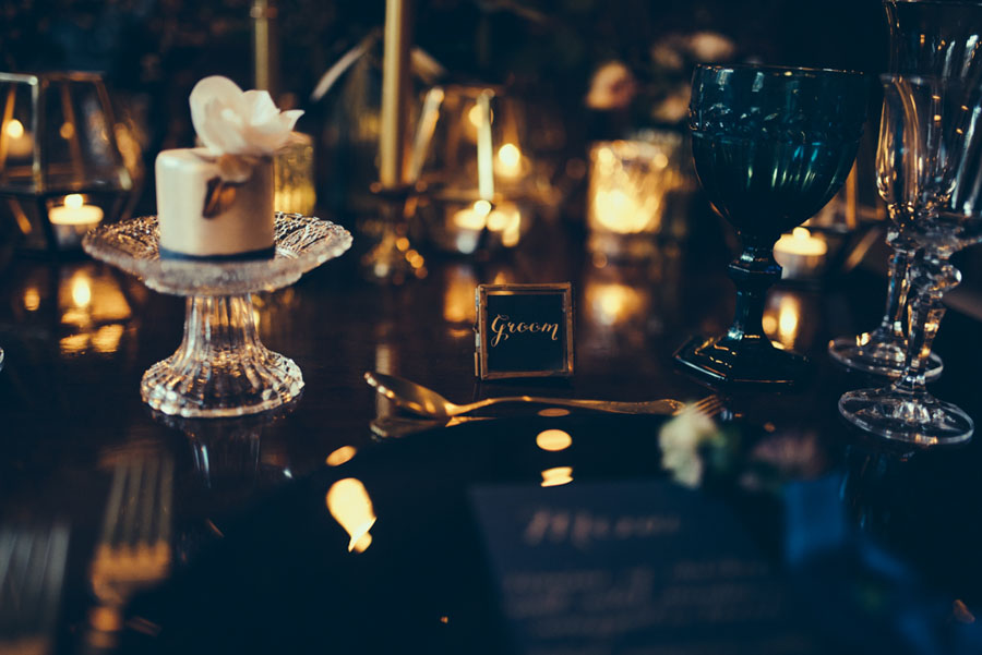 A Deeply Decadent Winter Themed Styled Shoot At A