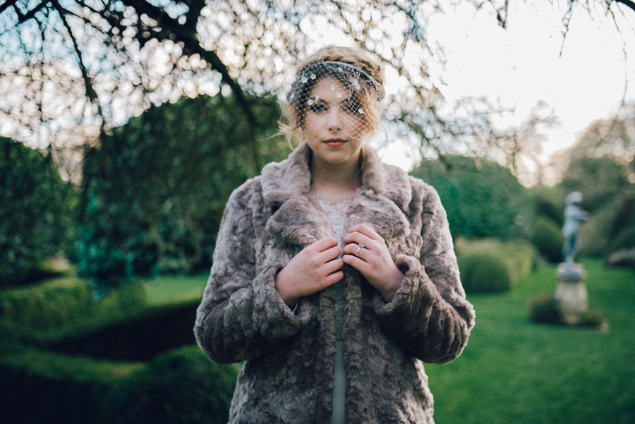 A Deeply Decadent 'Winter Themed' Styled Shoot at a Country Manor!