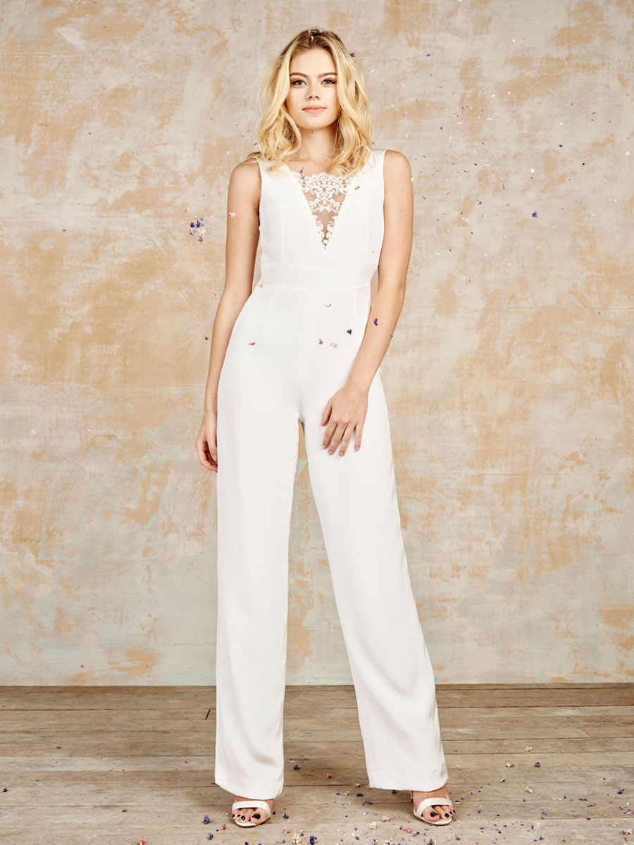 Wedding Bridal Jumpsuits luxury bridal jumpsuits playsuits sexy separates by house of ollichon