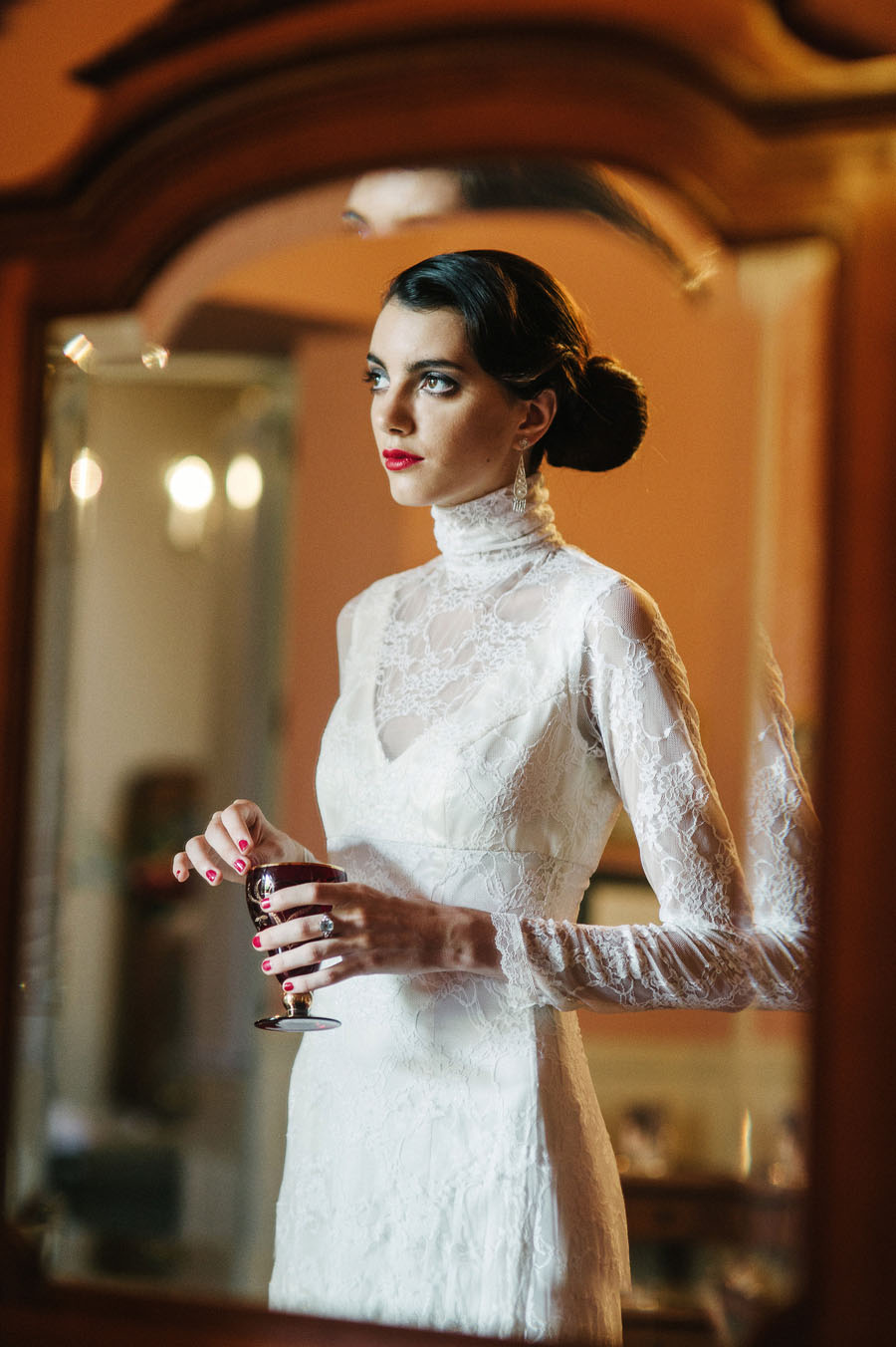 Spanish Elegance & Peruvian Tradition Bridal Editorial! Deep, Forbidden Love...