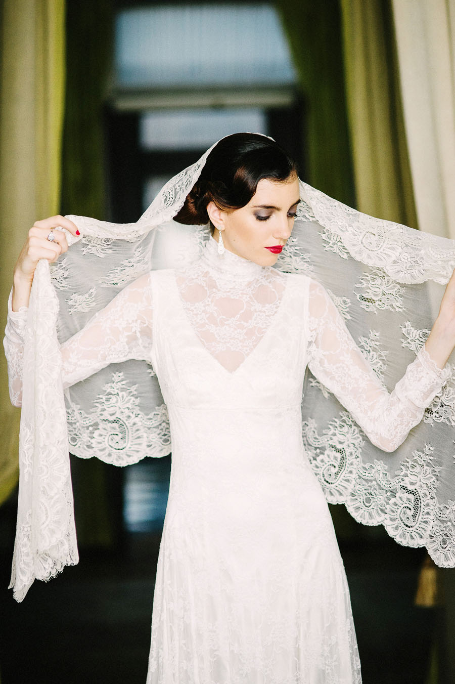Spanish Elegance & Peruvian Tradition Bridal Editorial! Deep, Forbidden Love…