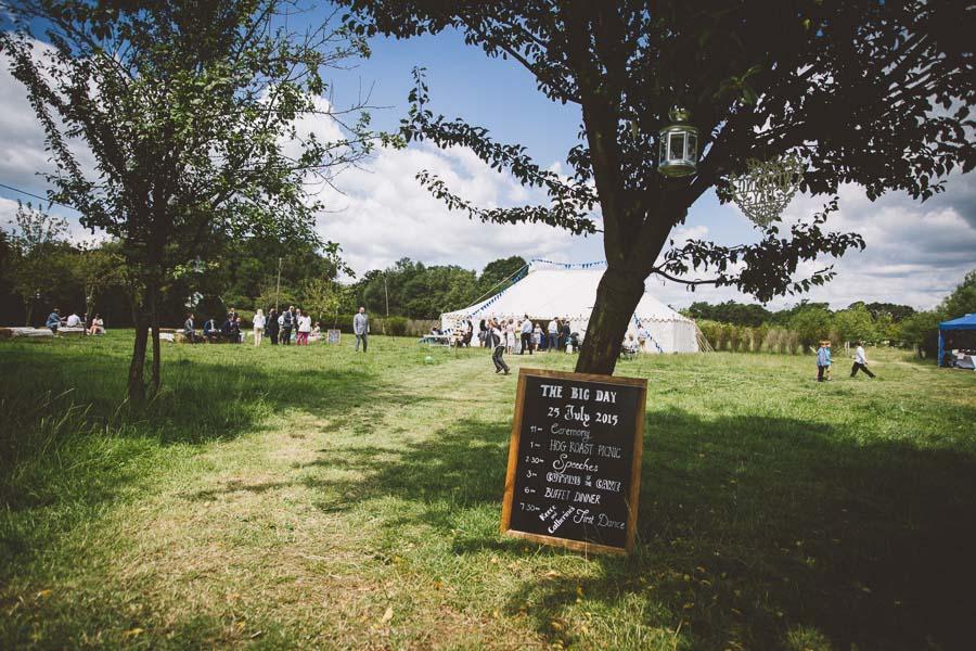 A Vintage / Boho Wildflower Country Farm Wedding: Reece & Cat