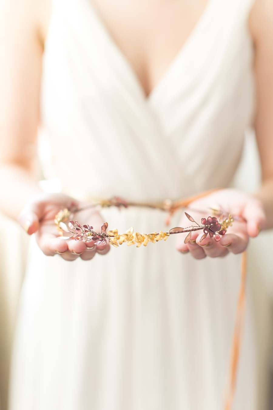 Ethereal Bridal Adornments: Victoria Millésime launches her 2016 Gold Dust Collection!