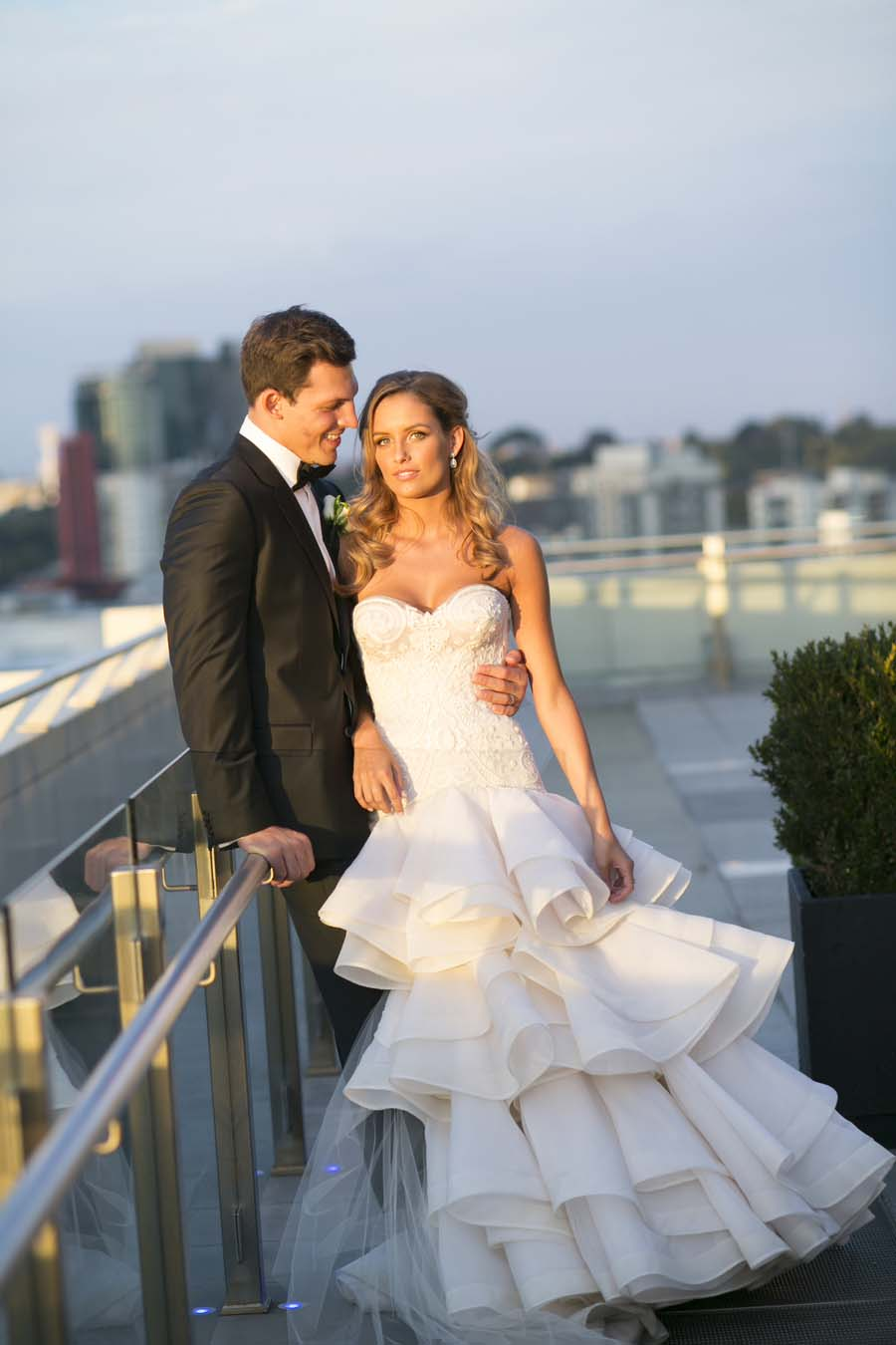 Classic & Timeless Melbourne Wedding With EPIC Flower Wall: Luke & Madeline