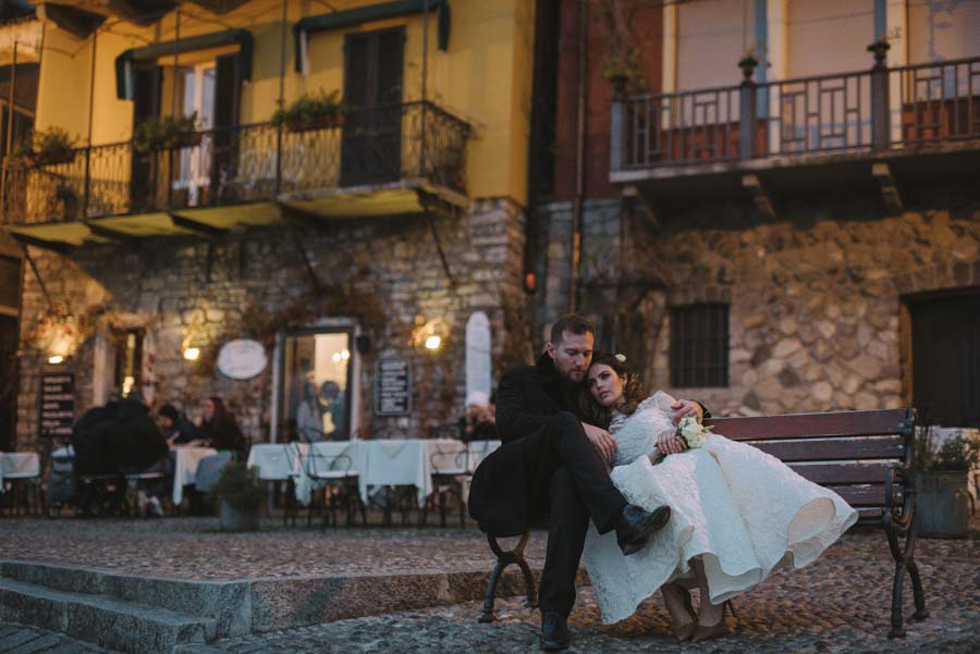 A Magical Winter Lake Como Wedding: Hugo & Fabienne