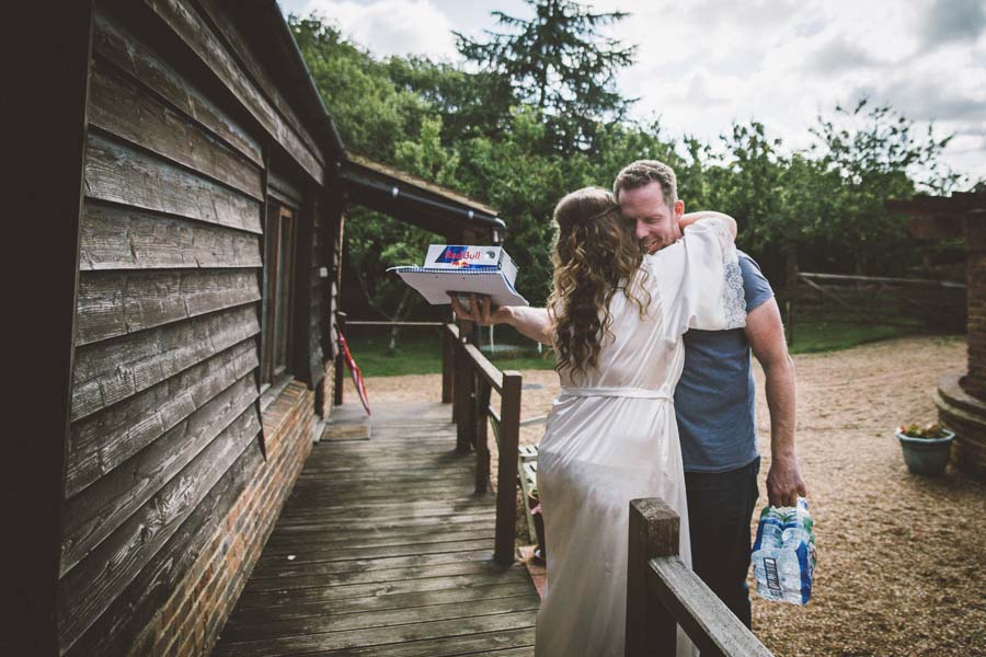 A Vintage / Boho Wildflower Country Farm Wedding: Reece & Cat