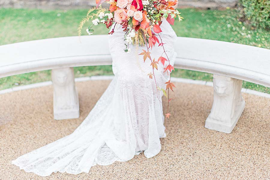 An Autumn Romance: Soft Rose & Autumnal Hues Wedding Inspiration!