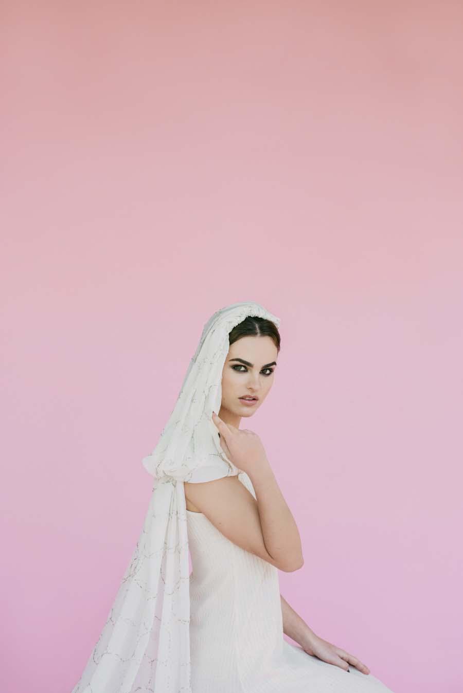 Pretty, Fun & Totally Unique Wedding Veils by Beba's Closet #veilmeagain