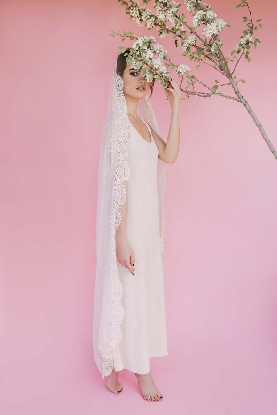 Pretty, Fun & Totally Unique Wedding Veils by Biba's Closet #veilmeagain