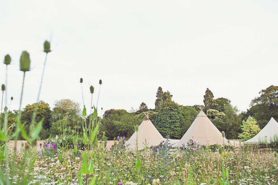 A Yorkshire / California Tipi Garden Wedding! Emily & Matthew