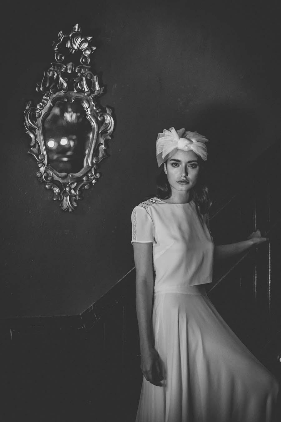 Glitter & Disco: Beautiful 70s Inspired Wedding Dresses by Otuday