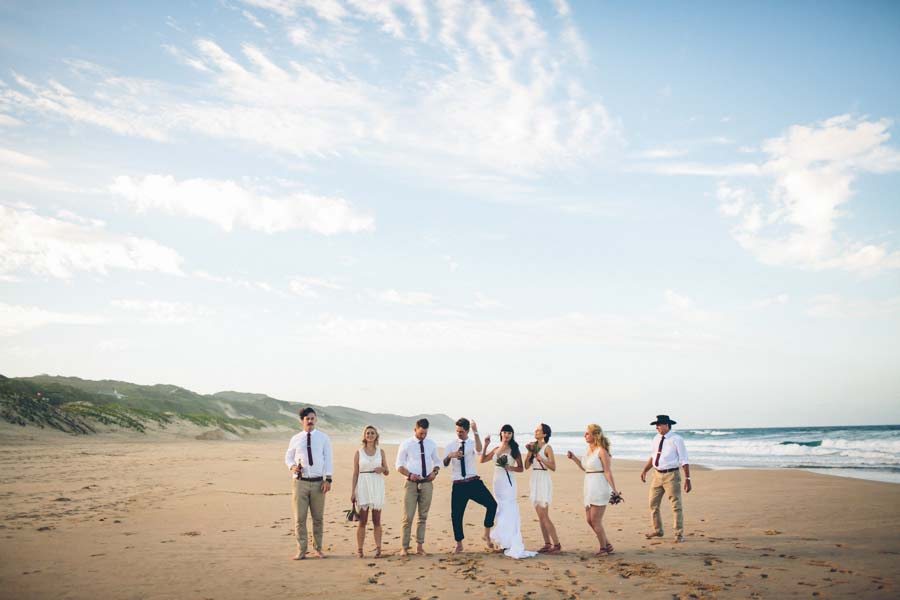 A Boho Glam, Mozambique Beach Wedding With Nautical Vibes: Ash & Brad