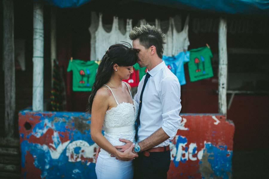 A Boho Glam, Mozambique Beach Wedding With Nautical Vibes: Ash & Brad