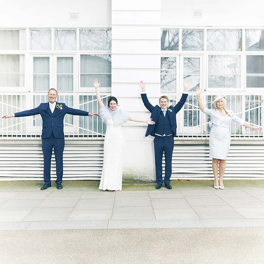 A Fun, London, 1960s Inspired Beatles Wedding: Gemma & Ben