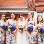 A Relaxed Blue & Blush DIY Wedding: Jo & Adam