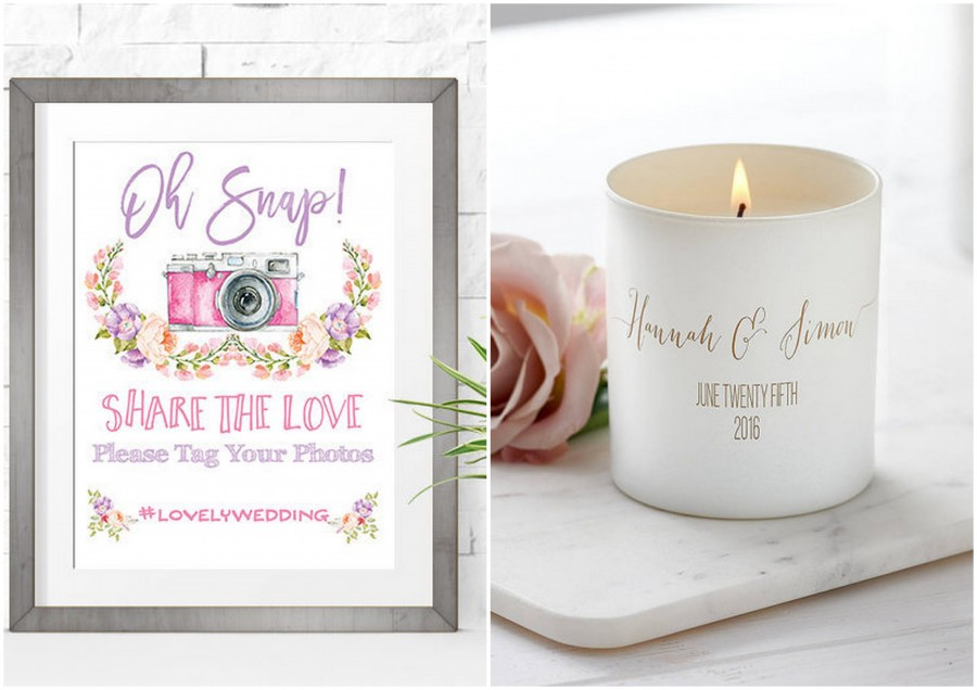 10 Fabulous Wedding Finds From Etsy You'll Adore