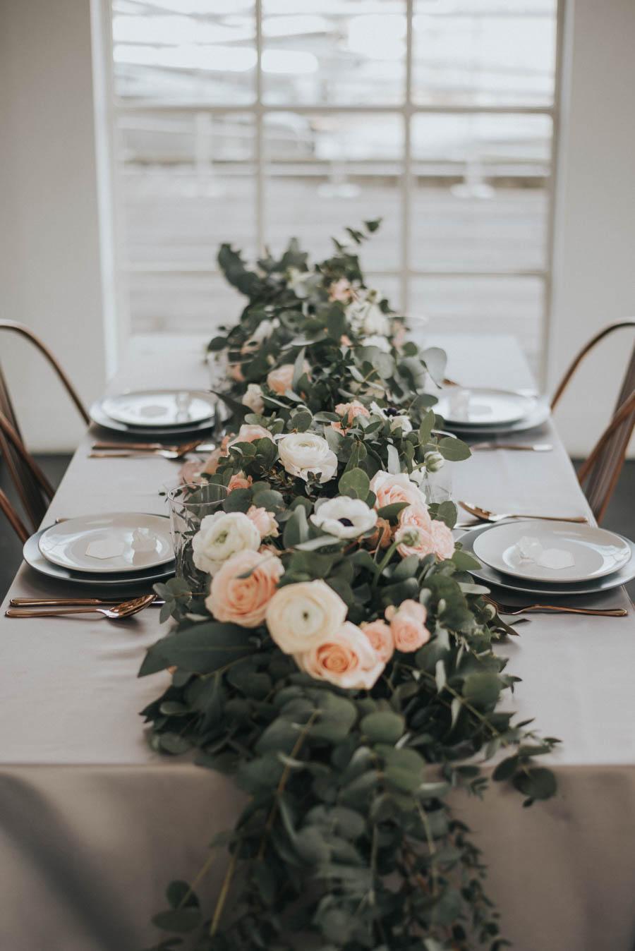 Industrial, Crystal Chic Styled Bridal Shoot: Cool Copper & Romantic Rose Quartz!Industrial, Crystal Chic Styled Bridal Shoot: Cool Copper & Romantic Rose Quartz!