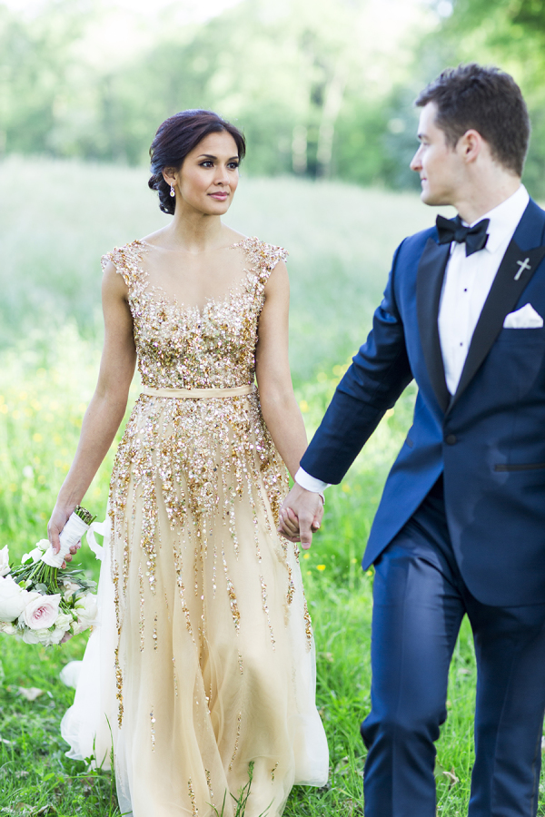 Rustic mint and gold wedding inspiration and ideas for Mint and gold wedding dress