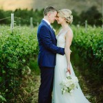 An Elegant Destination Wedding in a South African Vineyard: Katie & Simon