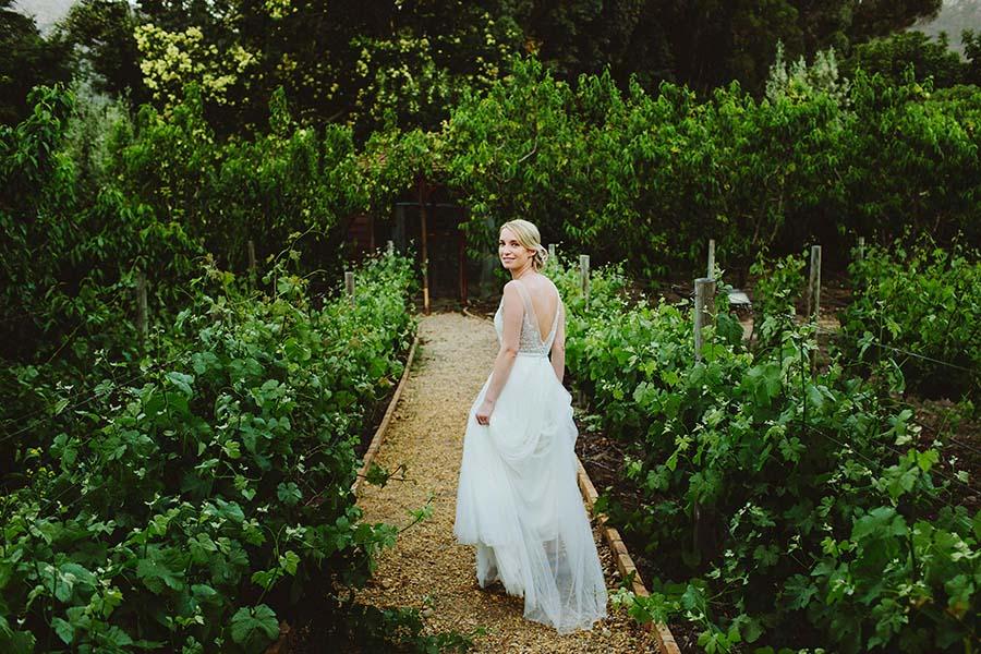 An Elegant Destination Wedding in a South African Vineyard: Katie & Simon