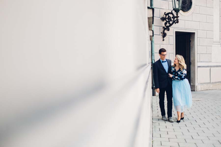 A Transatlantic Love Story & Engagement Session: Madison & Manuel