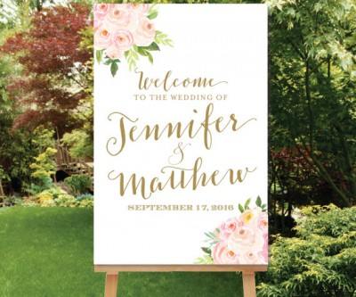 Welcome Wedding Sign etsy.com:listing:235415122:wedding-welcome-sign-blush-gold?ga_order=most_relevant&ga_search_type=all&ga_view_type=gallery&ga_search_query=wedding%20welcome%20sign&ref=sr_gallery_1