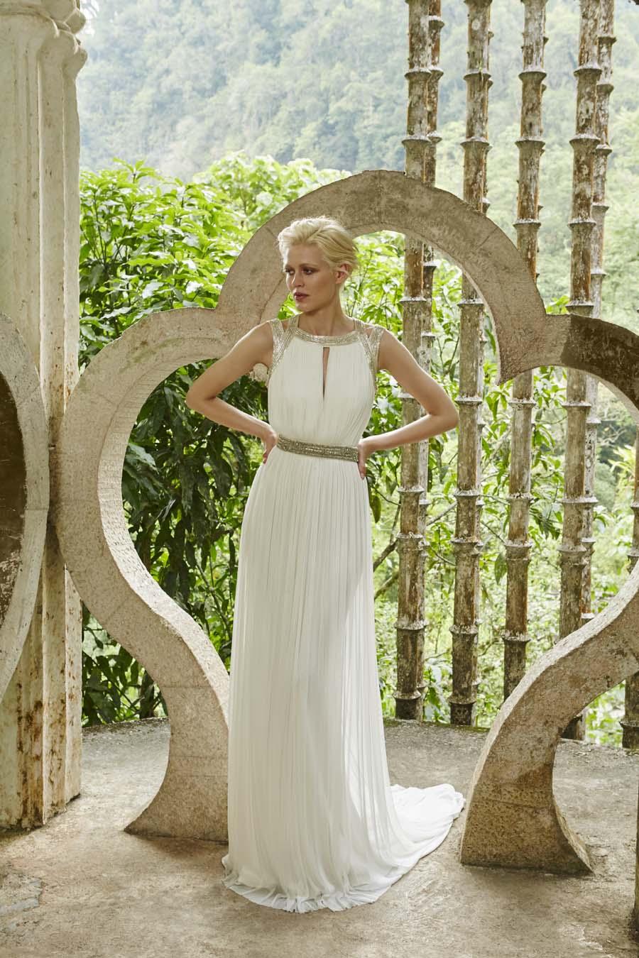 Amanda Wakeley Releases Gorgeous New Bridal Wedding Dresses 2017 ...
