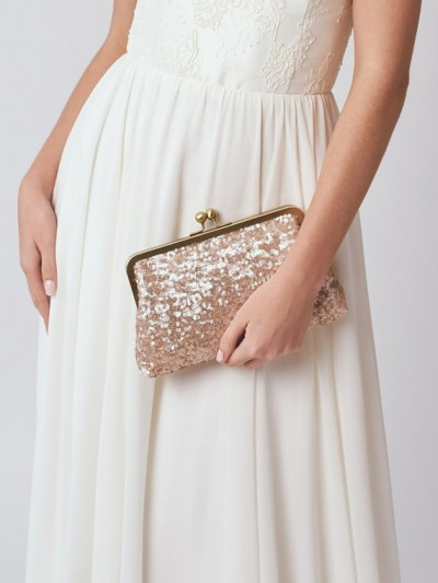 Etsy finds rose gold clutch from DavieandChiyo