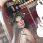 French Boho Chic: A Bijou Bride, in Copper & Blush