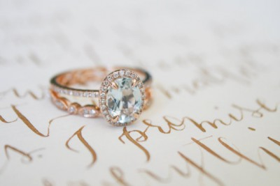 Etsy finds rose gold ring from OliveAvenueJewelry