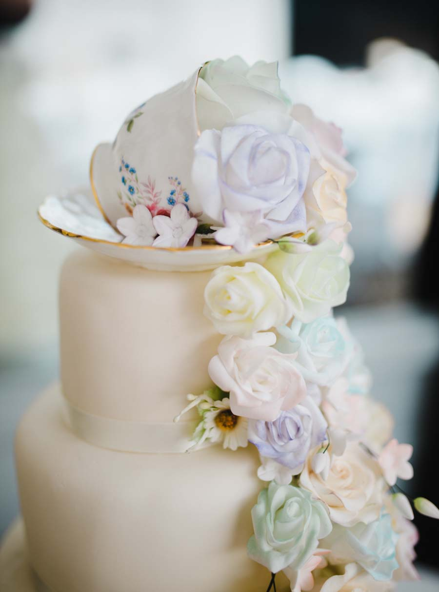 Pretty Pastel Alice In Wonderland Inspired Wedding: Becki & Nick