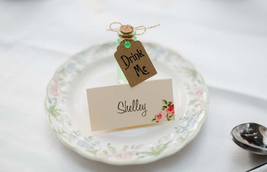 Pretty Pastel Alice In Wonderland Inspired Wedding: Becky & Nick