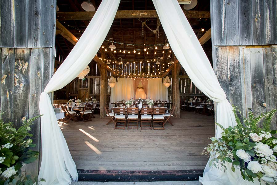 A Romantic & Rustic Barn Wedding With Chandeliers & Spring Florals: Ashleigh & Braden