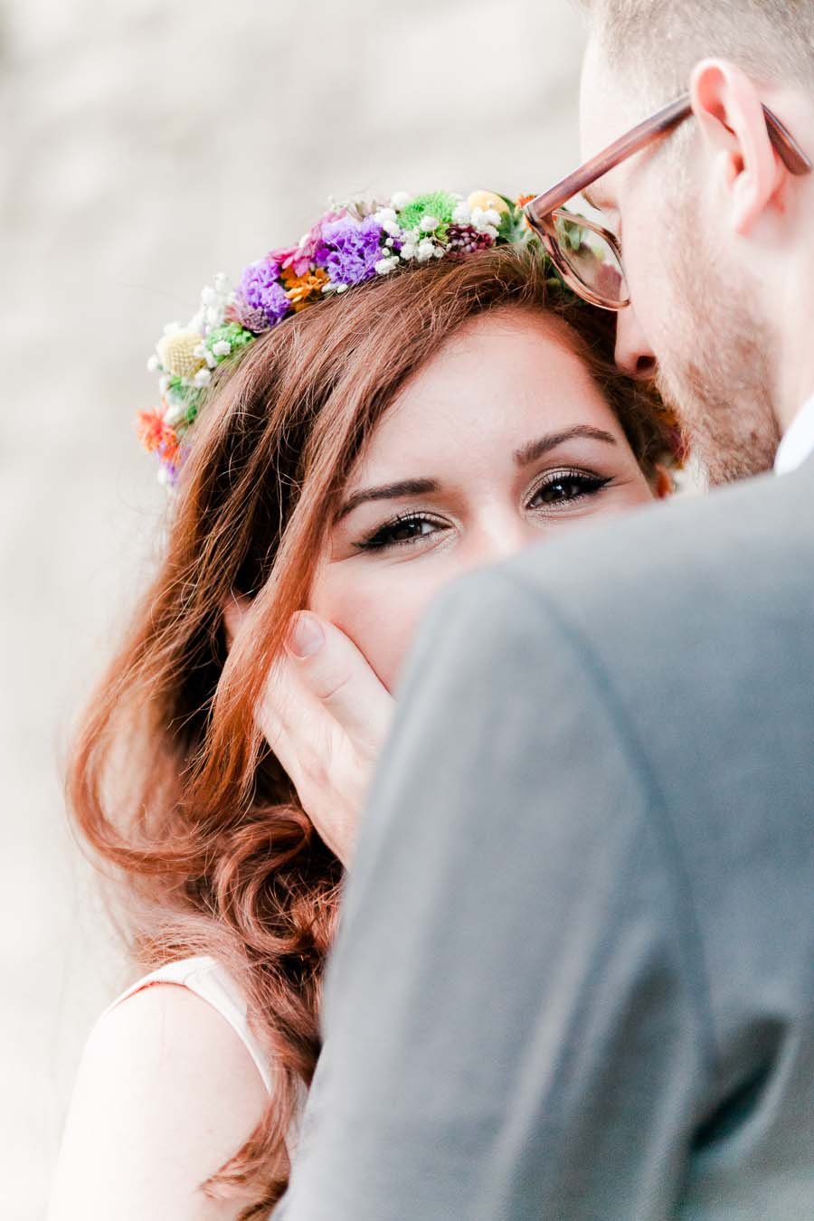 A Beautiful & Colourful Love Shoot in Nature! Afet & Sebastian