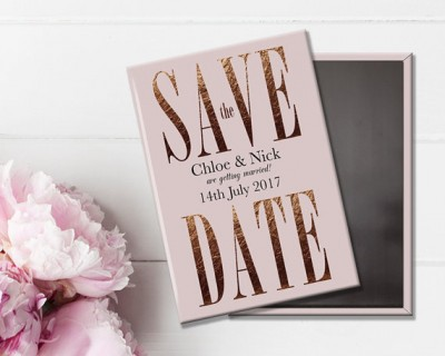 Etsy finds rose gold wedding stationery from magnet weddinggraphicsuk