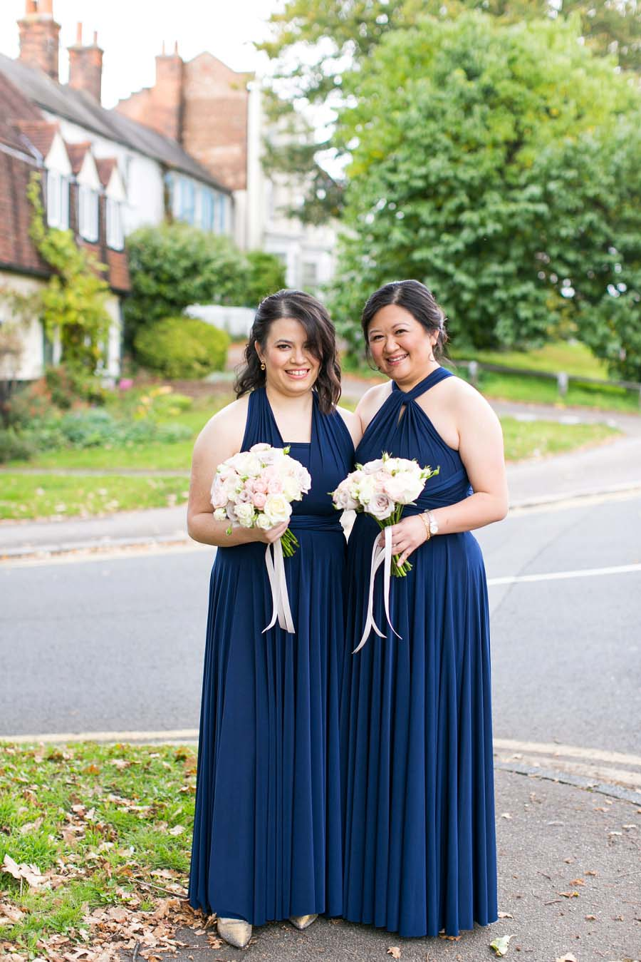 navy, pink, white wedding38